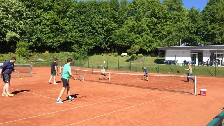 """Saisoneröffnung """"Deutschland spielt Tennis"""" 2018"""